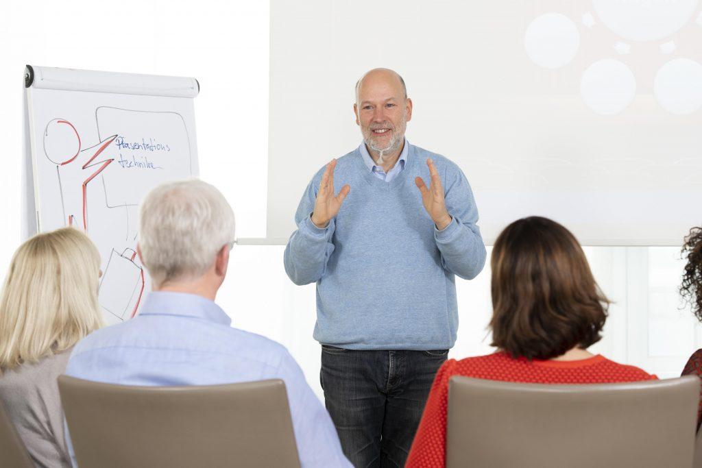Matthias Garten im Workshop
